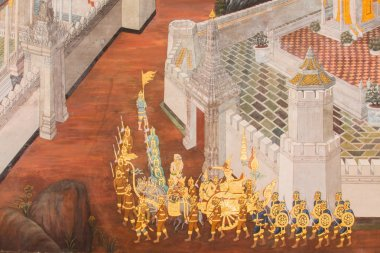 Murals at Wat Phra Kaew