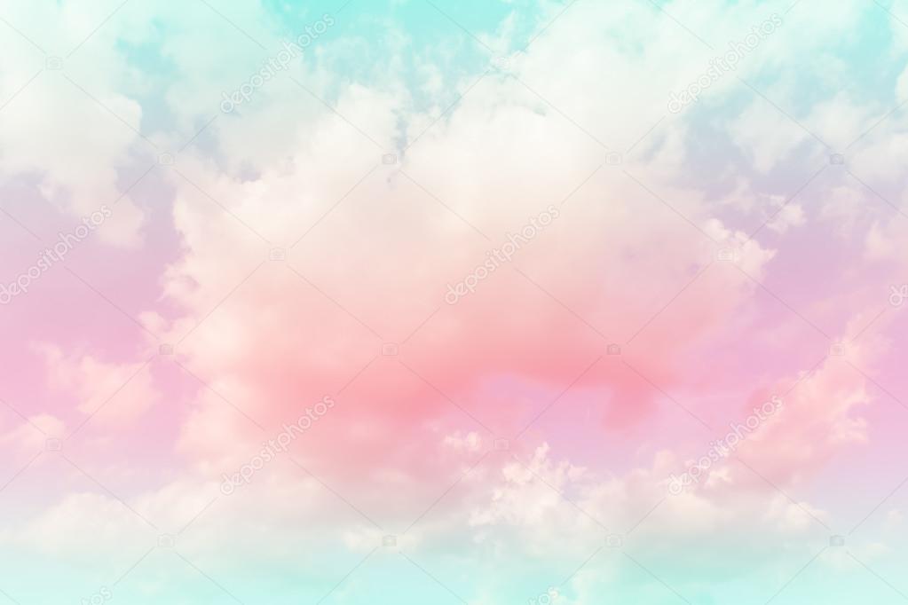 다채로운 그라데이션으로 부드러운 구름