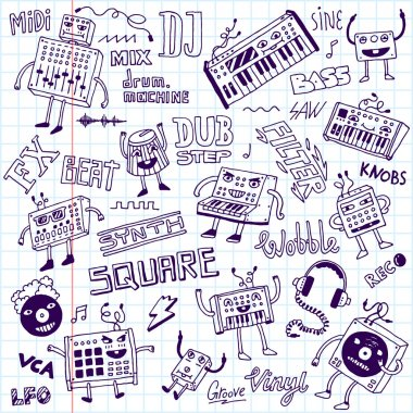 Midi controllers synthesizers doodles