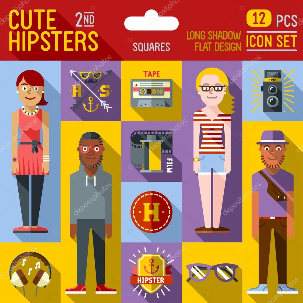 Cute hipster looks