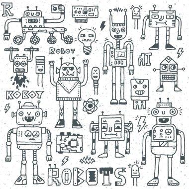 Robots,Electrical, Circuits, Microschemes.