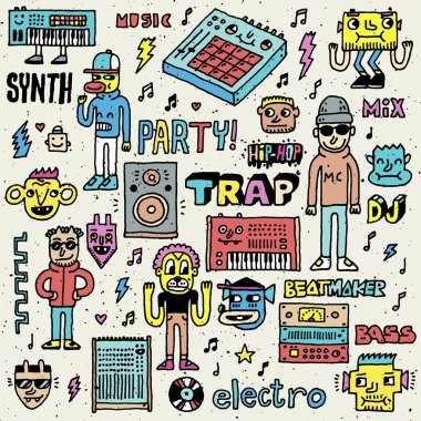 Music Electronic Style Funny Wacky