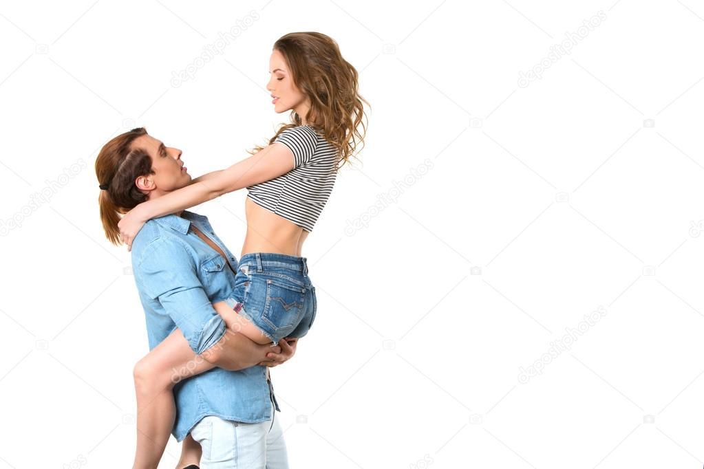 парень подцепил девку молодую