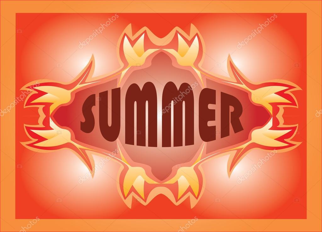 Sommer Design Kostenlos Stockvektor Thandreola Hotmail Com