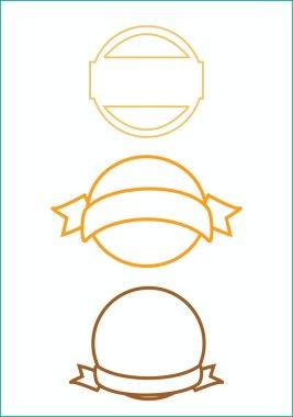 Stamp simple design