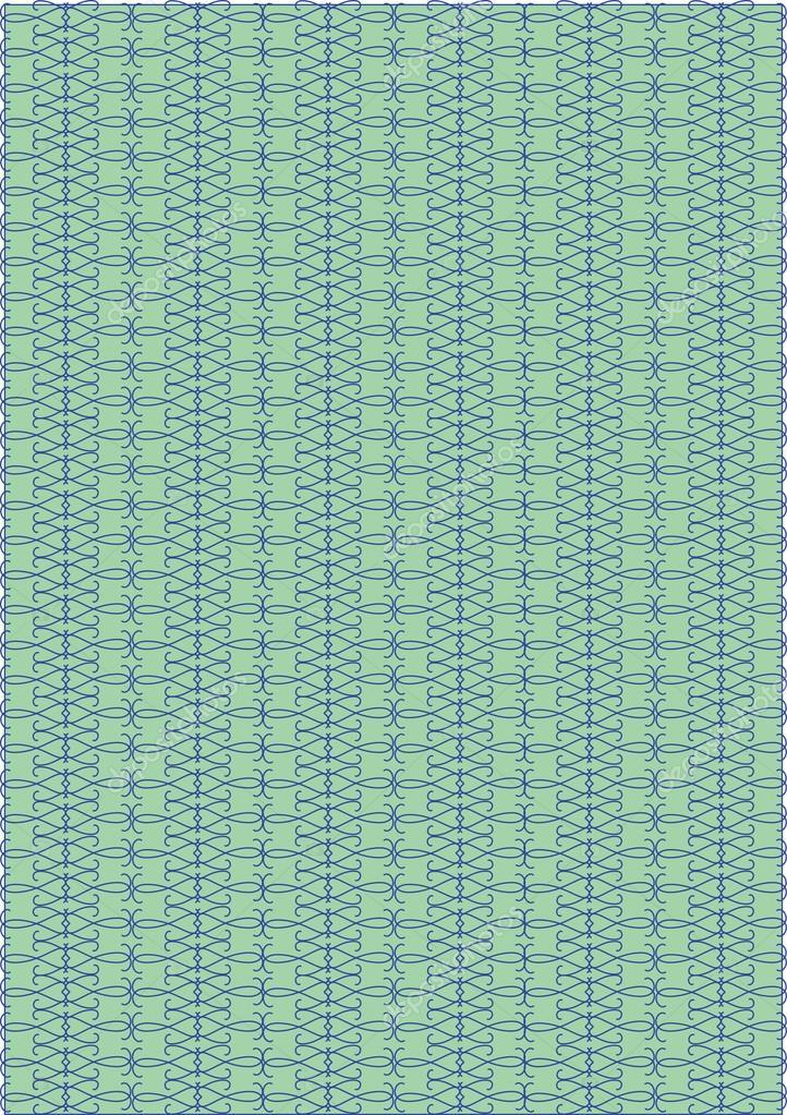 Tapete Grün Blaues Design Ablaufverfolgung U2014 Stockvektor