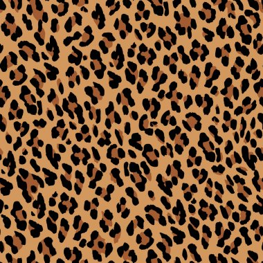 Leopard skin background.