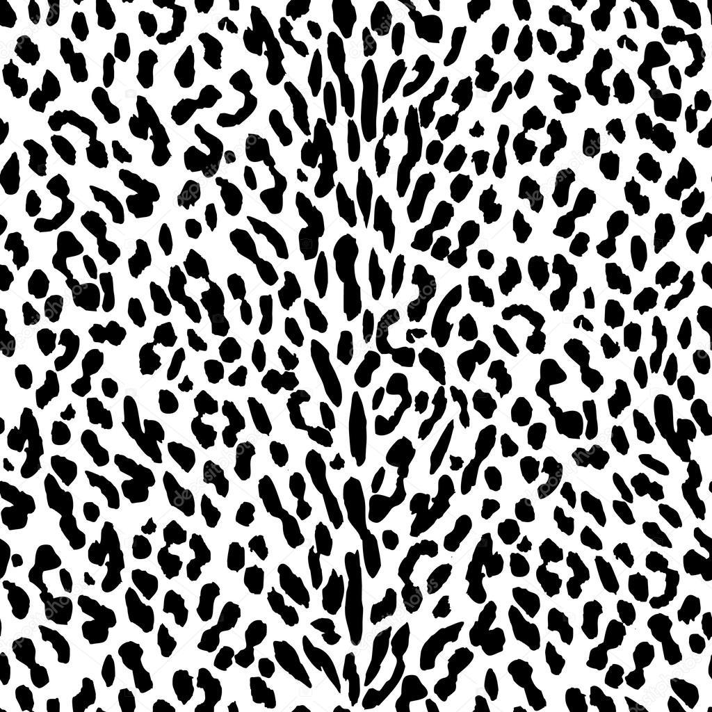 Sfondo Leopardato Bianco E Nero Bianco E Nero Del