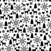 Photo Winter Holidays Seamless Pattern