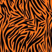 Fotografie Abstract animal skin pattern. Zebra, tiger stripes. Seamless tiger background texture.