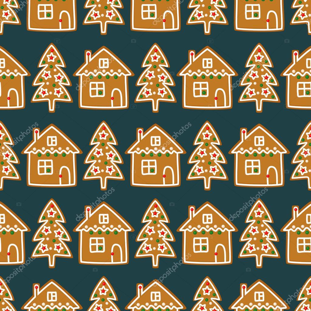 Albero Di Natale Fatto Con I Biscotti.Modello Senza Cuciture Con Natale Biscotti Fatti In Casa Albero Di