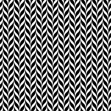 Optical illusion transformation. Black and white abstract spiral vector background.