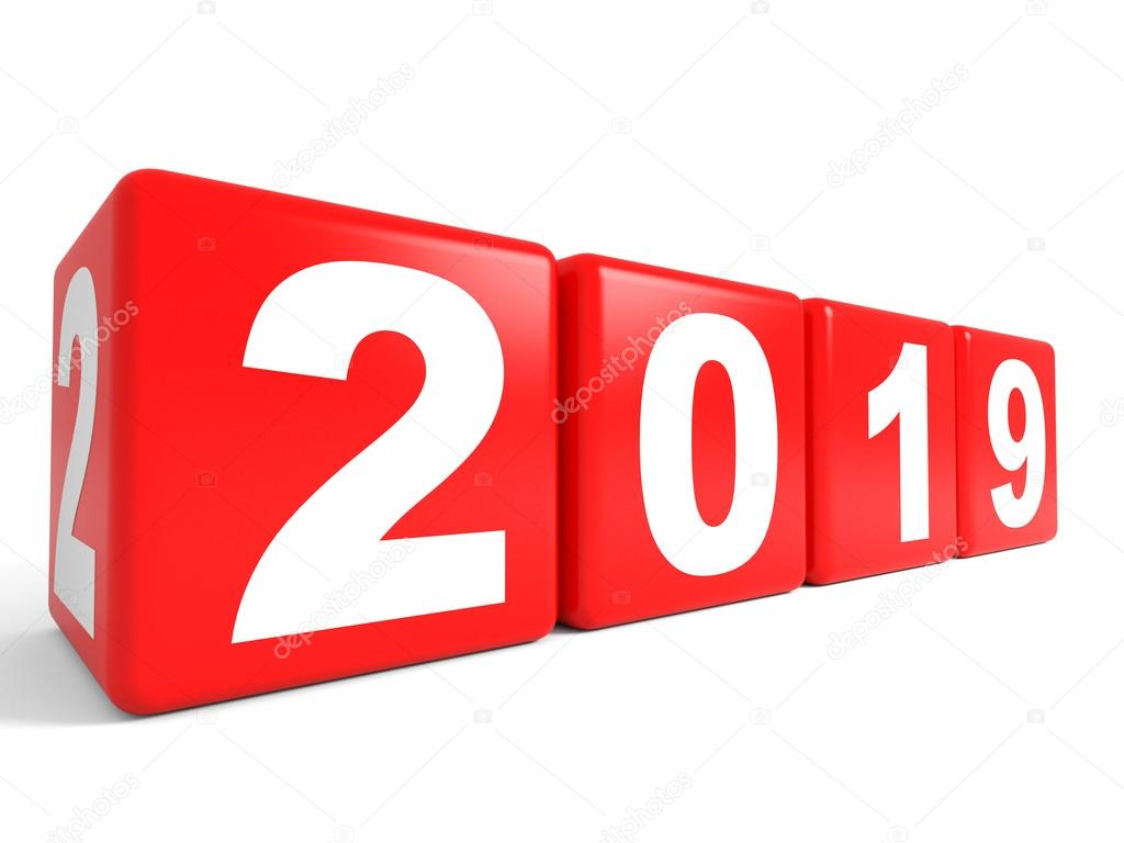 2019 new year cubes stock photo icreative3d 60987089