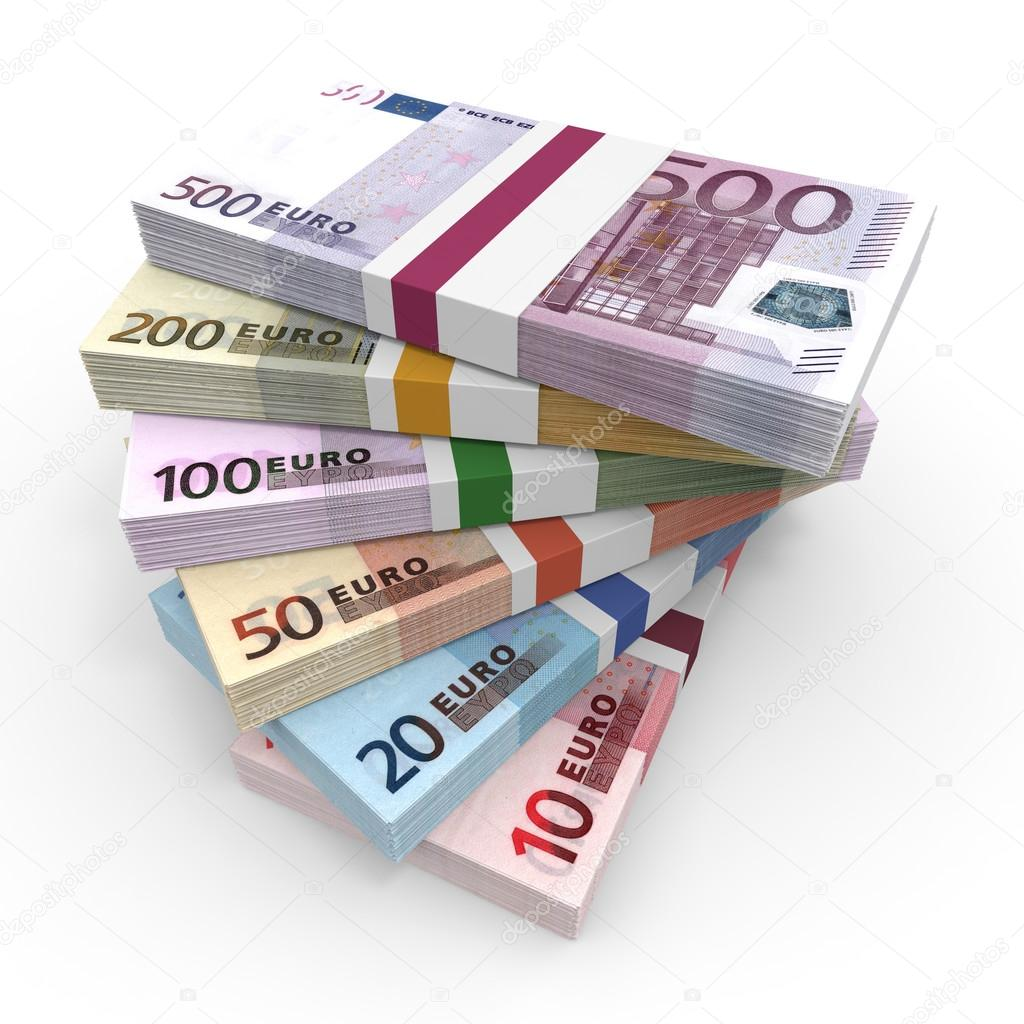 money stacks of euros stock photo icreative3d 67277961