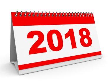 Calendar 2018.