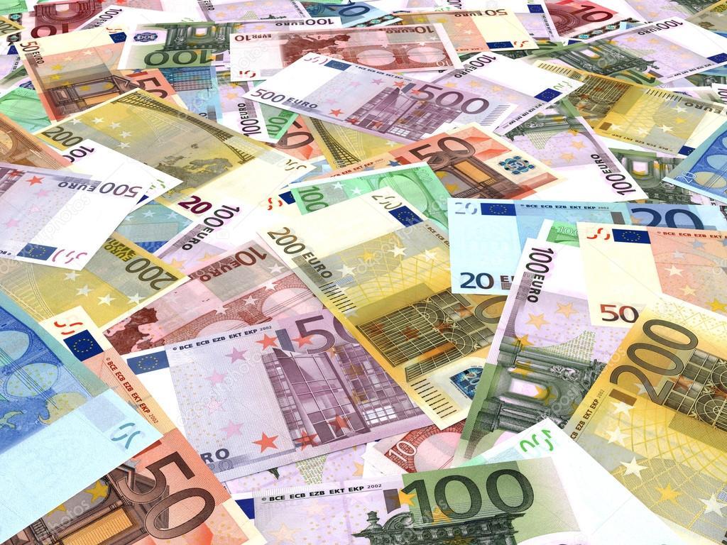 Sfondo di banconote euro foto stock icreative3d 68075275 - Stock piastrelle 2 euro ...
