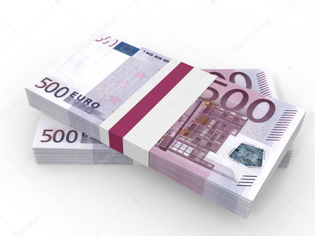 Stosy pieni dzy pi set euro zdj cie stockowe - Stock piastrelle 2 euro ...