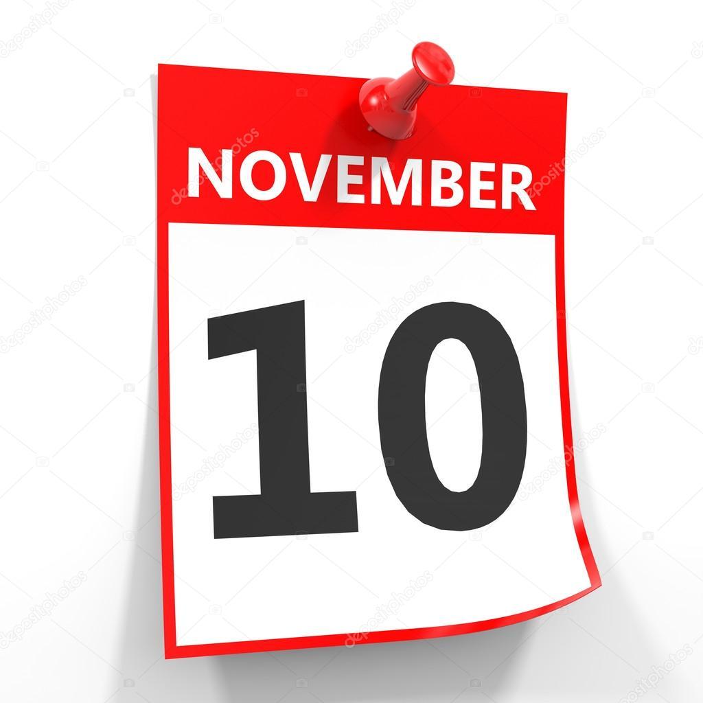 10. November