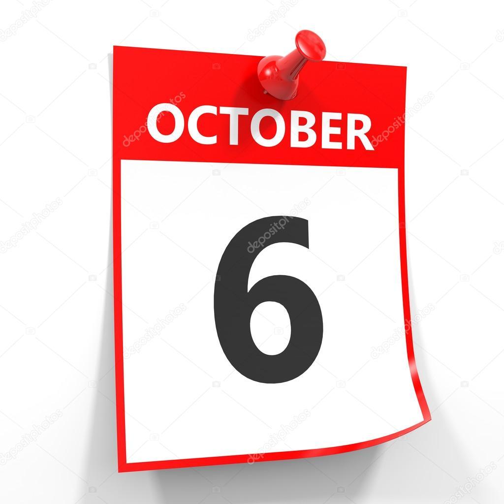 Resultado de imagen de 6 octubre