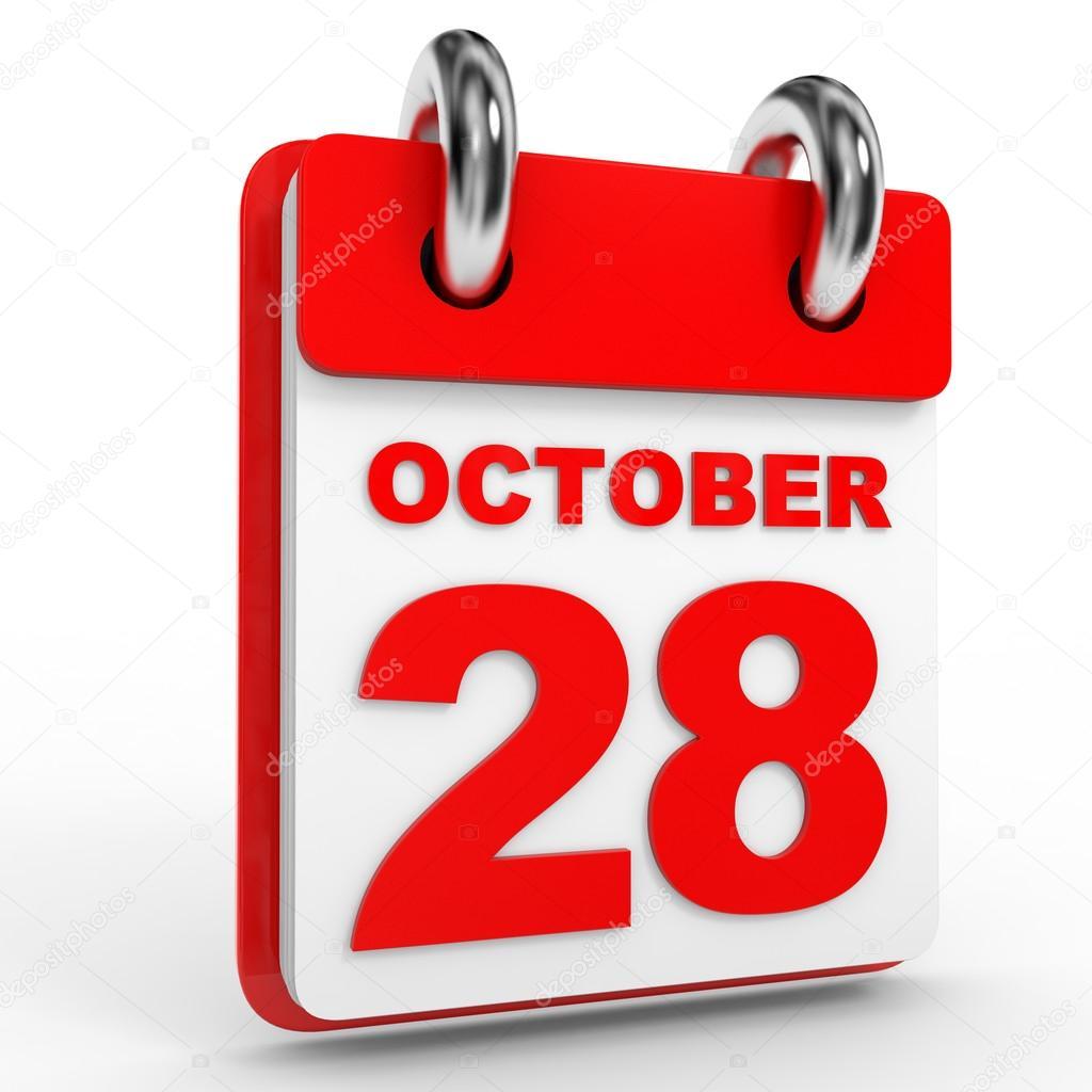 Resultado de imagem para calendário dia 28 de outubro