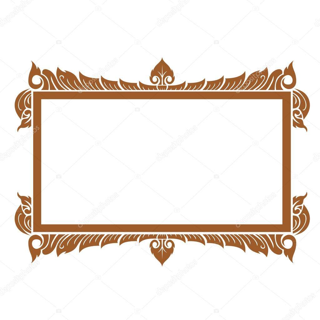 Thai elegant art frame — Stock Vector © jakkarin_rongkankeaw@hotmail ...
