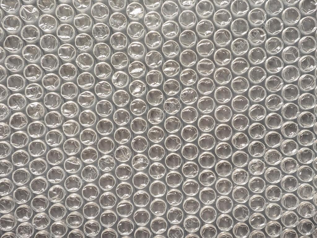 Bubble Wrap Background Stock Photo
