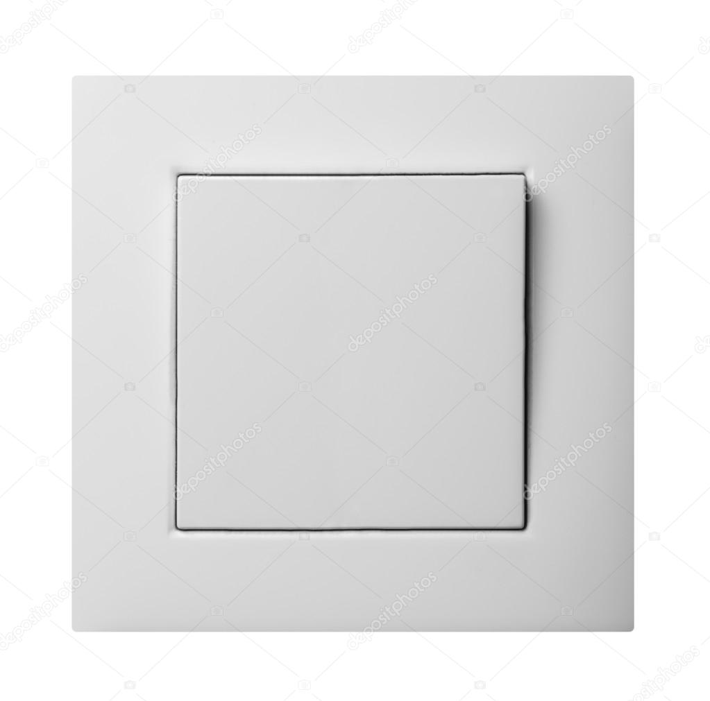 Lichtschalter isoliert — Stockfoto © Ovydyborets #52405253