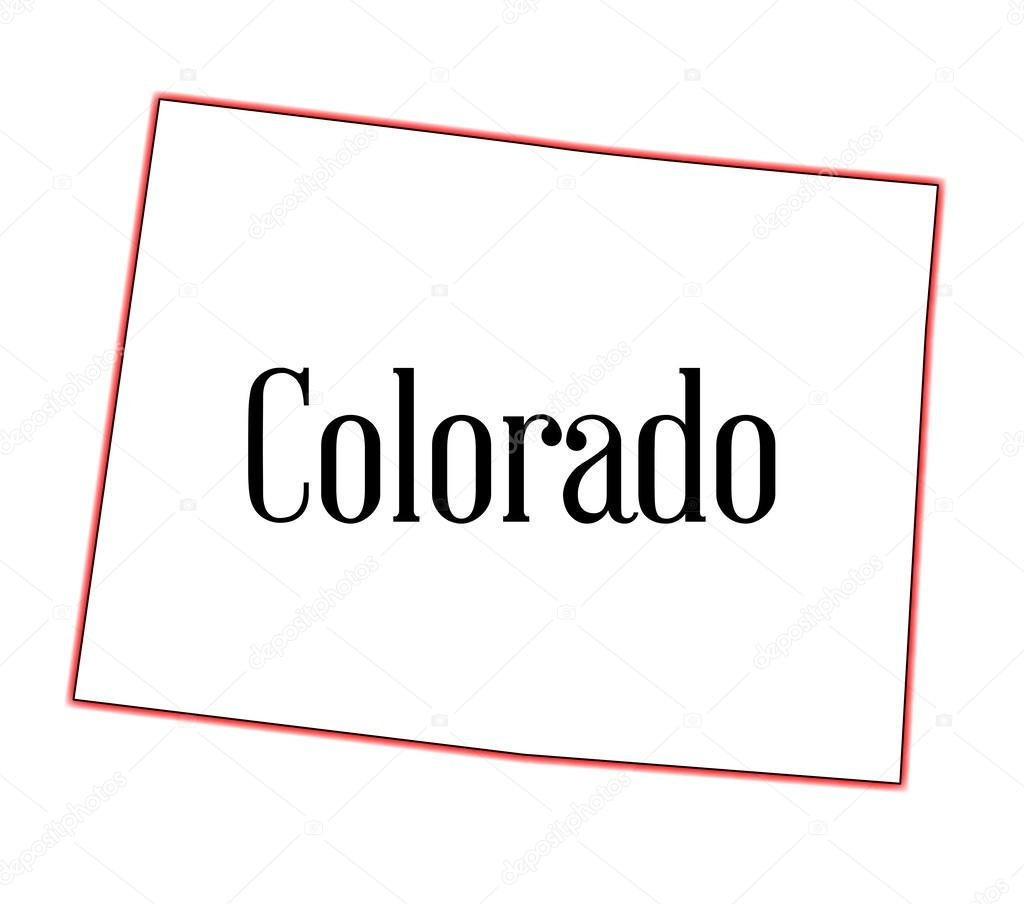 Colorado State Flag U2014 Stock Vector