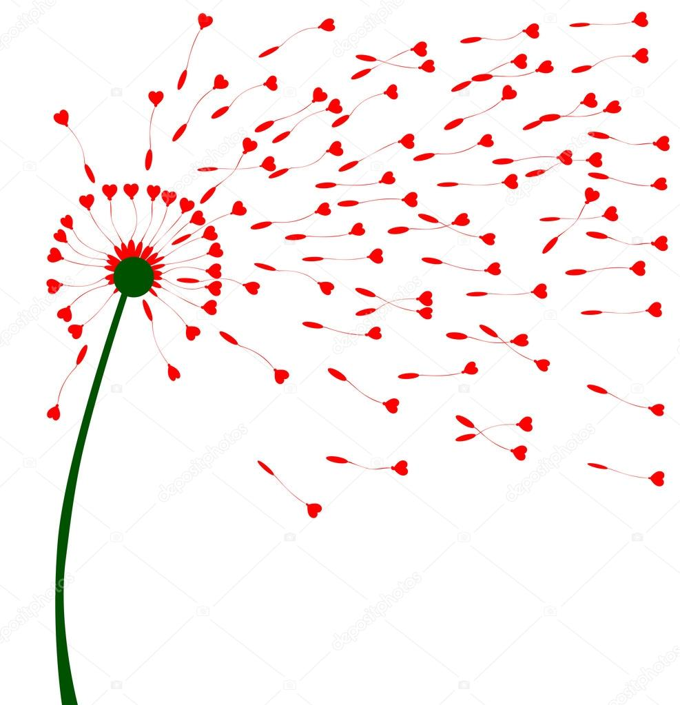 Dandelion Heart Seeds