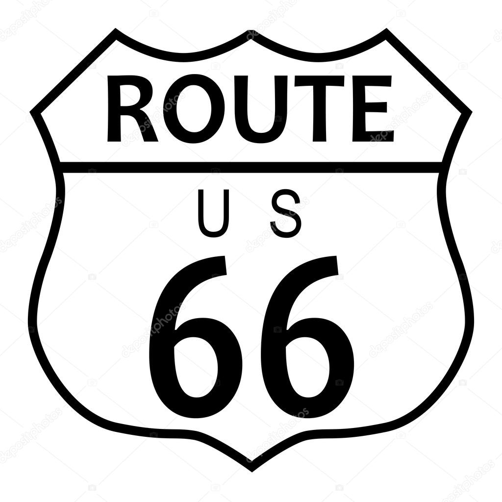 Ruta 66 kansas — Archivo Imágenes Vectoriales © BigAlBaloo #60709617