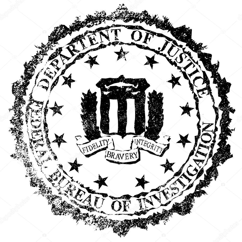 fbi rubber stamp stock vector  u00a9 bigalbaloo 62329321 fbi anti piracy warning logo fbi anti piracy warning logo