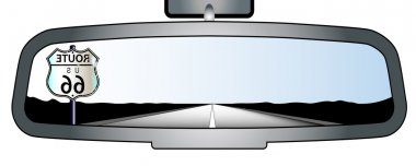 Route 66 Mirror