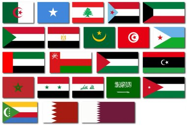 Flags of the Arab League