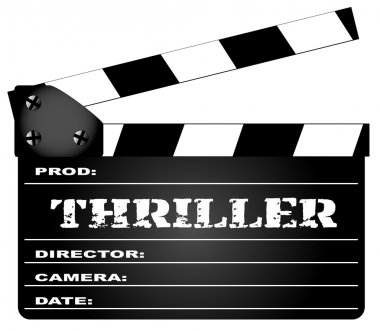 Thriller Clapperboard