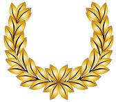 Fotografia Corona di alloro dorato
