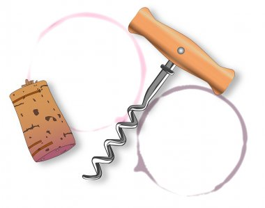 Corkscrew and Bottle Ring