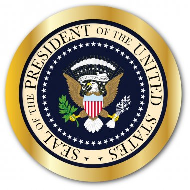 Presedent Seal Button
