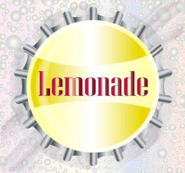 Lemonade Bottle Cap With Bubbles