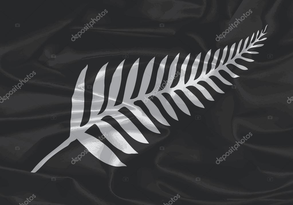 ニュージーランドの絹旗シルバー...