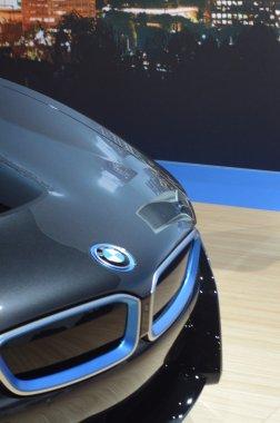 Premiere Moscow International Automobile Salon BMW i8 Capote and grid Refrigerators