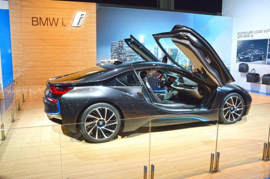 Moscow International Automobile Salon Premiere BMW i8