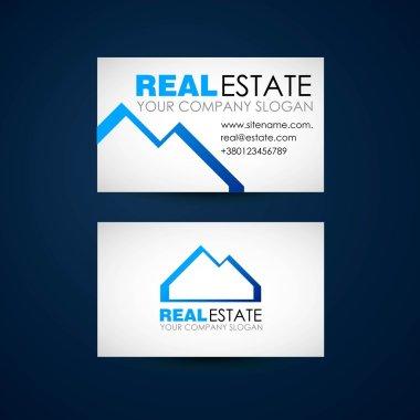 Real estate logo design. Real Estate business company. Building logo. Real estate business card design