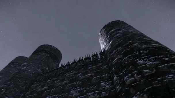 věž středověkého hradu