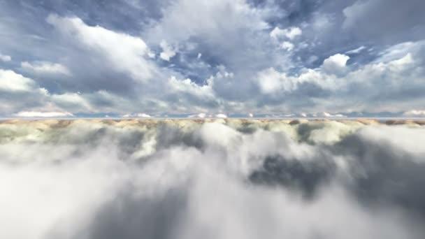 repülő a felhők