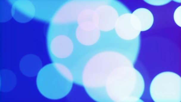 Modré světlo částice - Hd - smyčka