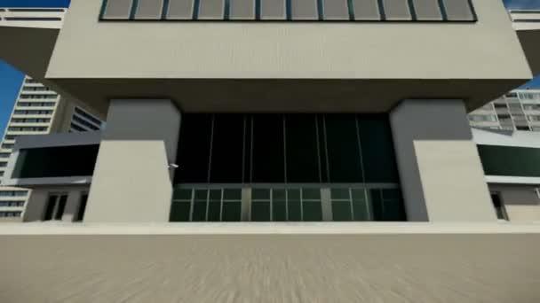 Volare su un edificio