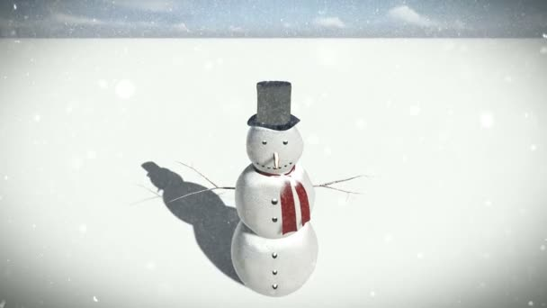 hóember a hóban