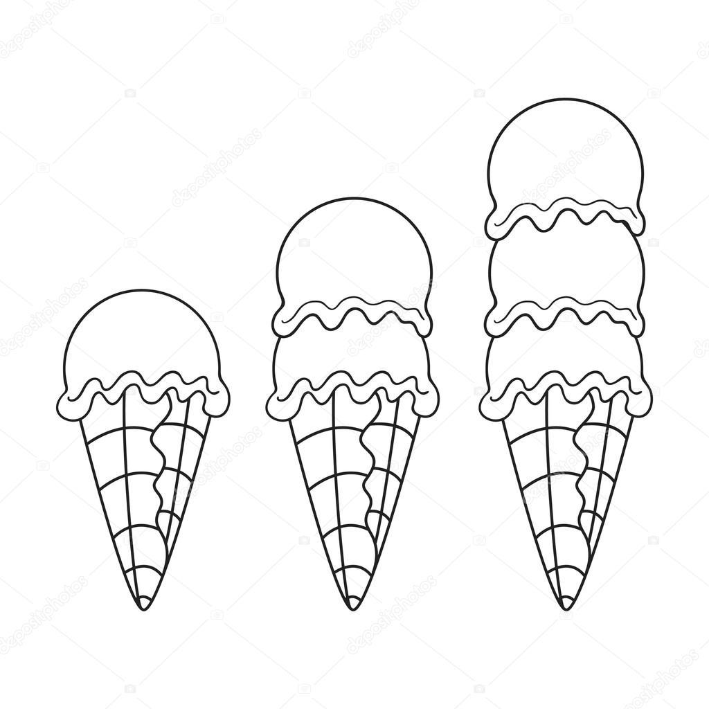 helado, vector — Vector de stock © BalakoboZ #115824536