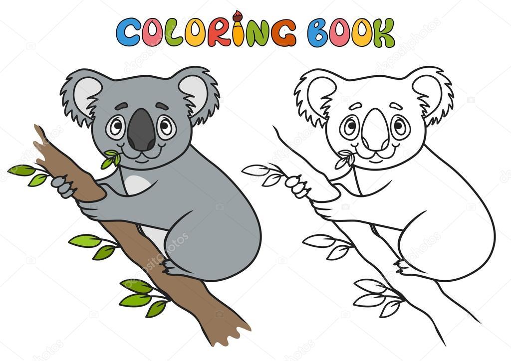 Fotos: koala para imprimir   Koala de los dibujos animados, vector ...