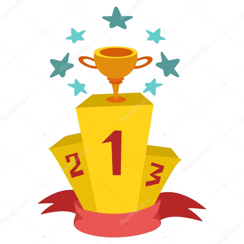 Ganadores Del Podio Vector De Stock Balakoboz 78133694